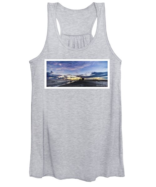 Moonlit Beach Sunset Seascape 0272b1 Women's Tank Top