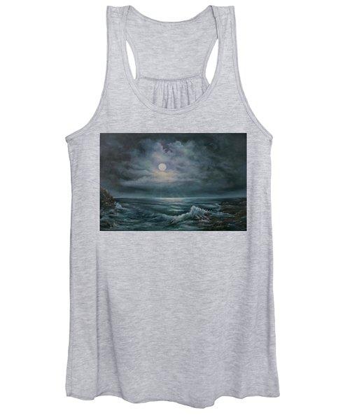 Moonlit Seascape Women's Tank Top