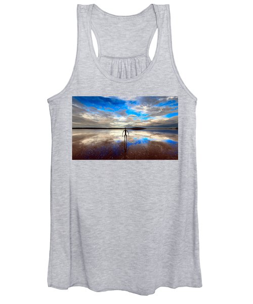 Morning Arrival At Lake Ballard Women's Tank Top