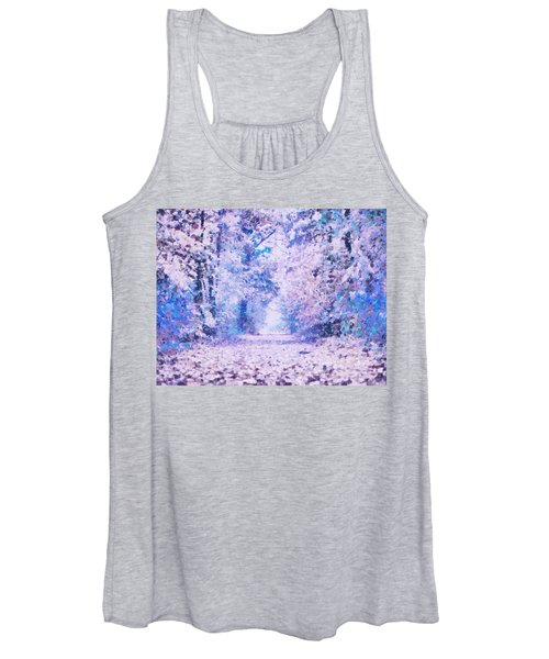 Morning Fantasy Forest Impressions Women's Tank Top