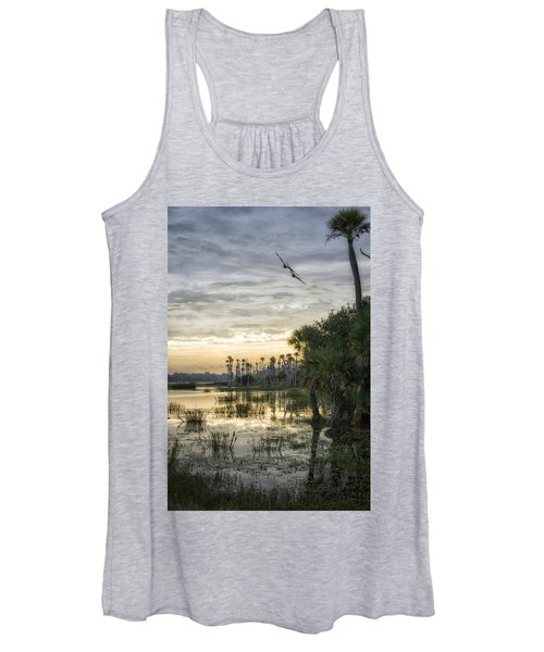 Morning Fly-by Women's Tank Top