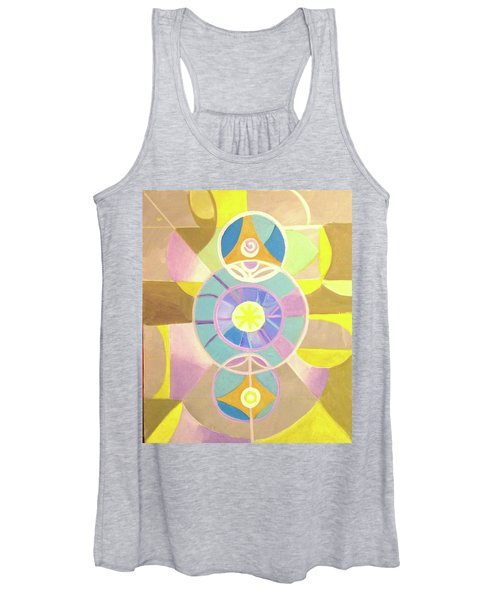 Morning Glory Geometrica Women's Tank Top