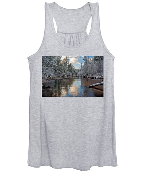Morning Light On Grand Marais Creek Women's Tank Top