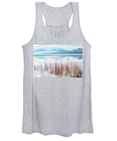 Morning Mist On The Lake Women's Tank Top