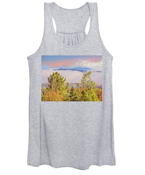 Morning Mountain View Northern New Hampshire. Women's Tank Top