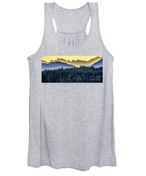 Morning Mountains Women's Tank Top