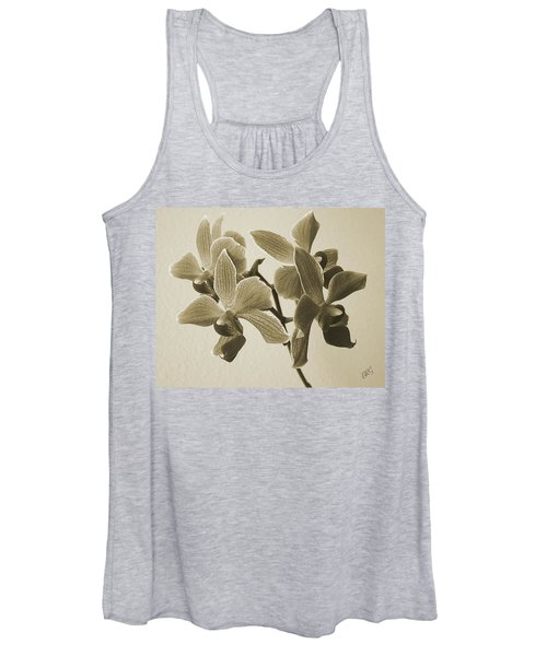 Morning Orchid Women's Tank Top