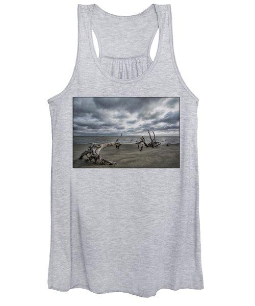 Morris Island Lighthouse Women's Tank Top