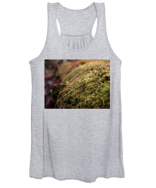 Women's Tank Top featuring the photograph Mossy by Michael Colgate