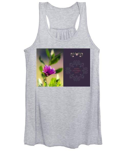 Mother's Day Flower Women's Tank Top