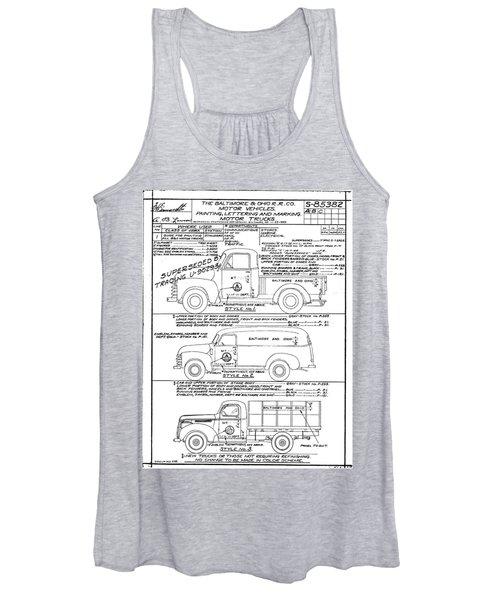 Motor Vehicles Women's Tank Top