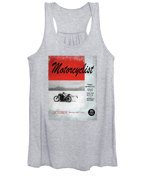 Motorcyclist Magazine - Rollie Free Women's Tank Top
