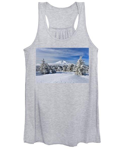 Mount Bachelor Winter Women's Tank Top