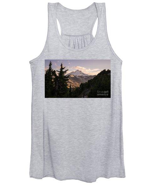 Mount Baker Beautiful Landscape Women's Tank Top