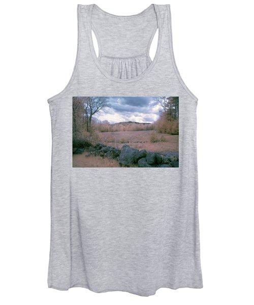 Mount Monadnock In Infrared Women's Tank Top