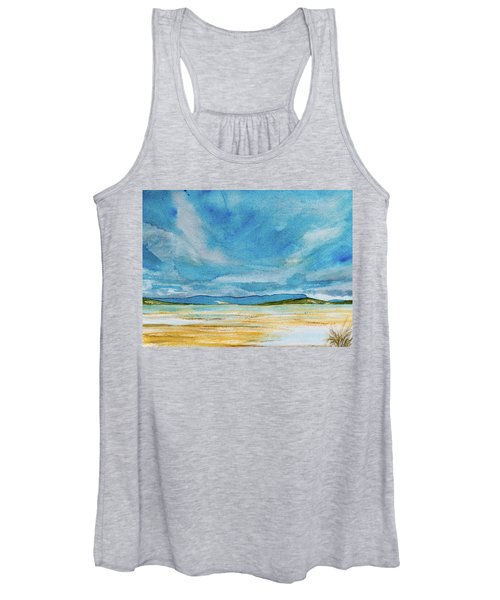 View Of Mount Wellington From South Bruny Island Women's Tank Top