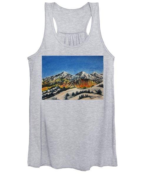 Mountain-5 Women's Tank Top