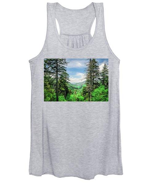 Mountain Forest Women's Tank Top