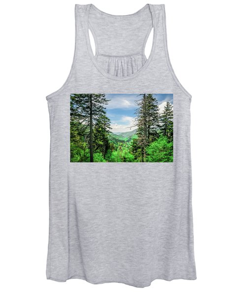 Mountain Forest Women's Tank Top