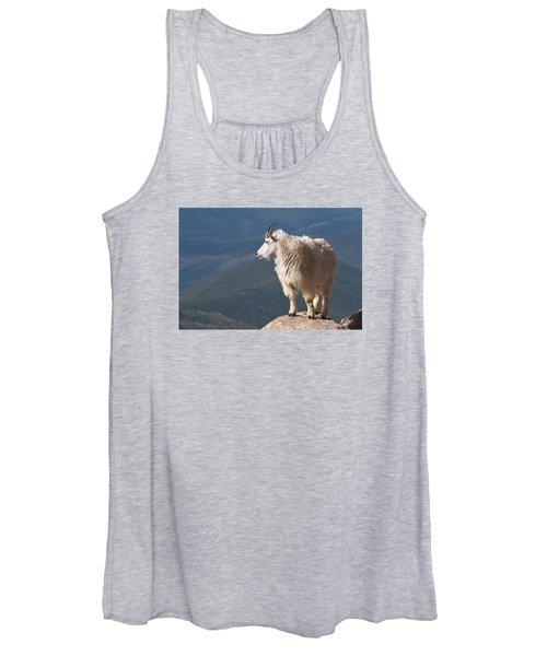 Mountain Goat Women's Tank Top