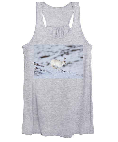 Mountain Hare - Scottish Highlands  #12 Women's Tank Top