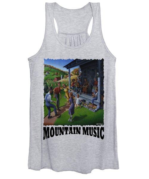 Mountain Music - Porch Music Women's Tank Top