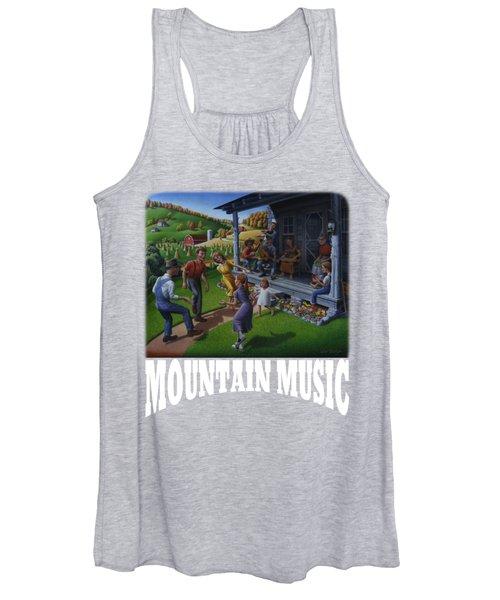 Mountain Music T Shirt 2 Women's Tank Top