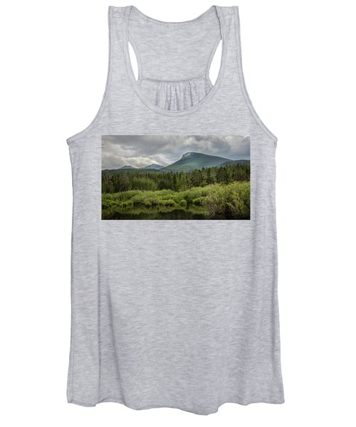 Mountain View From The Marsh Women's Tank Top