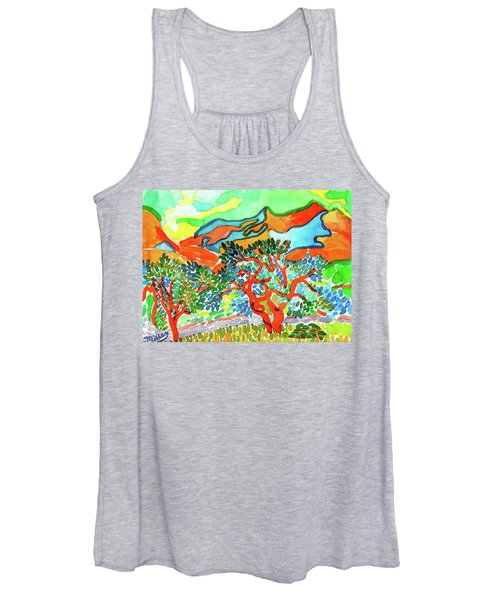 Mountains At Collioure Women's Tank Top