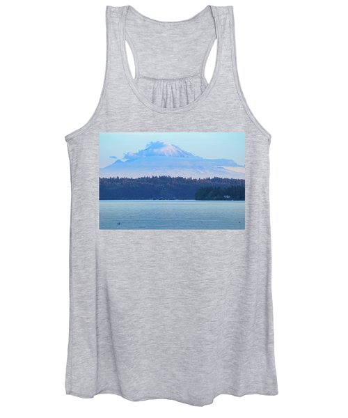 Mt. Rainier From Manchester Women's Tank Top