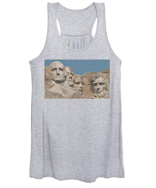 Mt. Rushmore Women's Tank Top