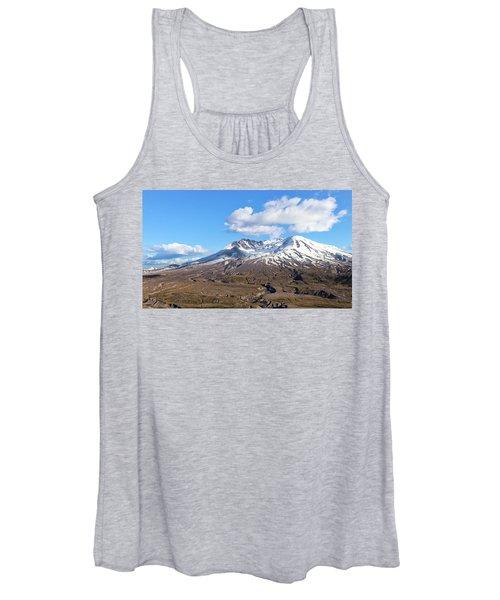Mt Saint Helens Women's Tank Top