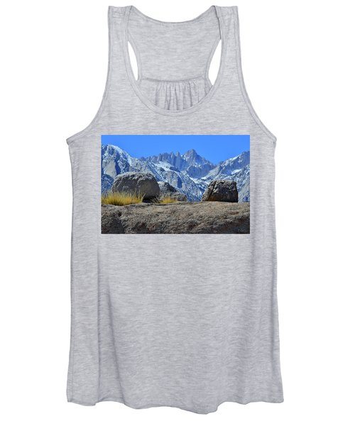 Mt. Whitney - Highest Point In The Lower 48 States Women's Tank Top