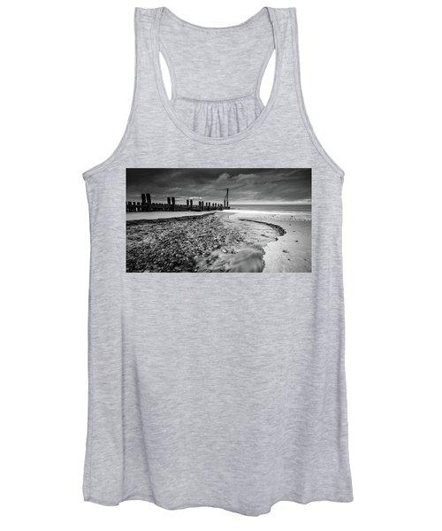 Mundesley Beach - Mono Women's Tank Top
