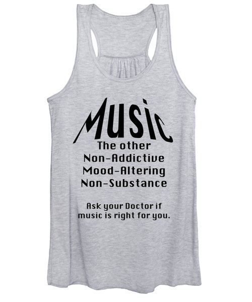 Music Is Right For You 5502.02 Women's Tank Top