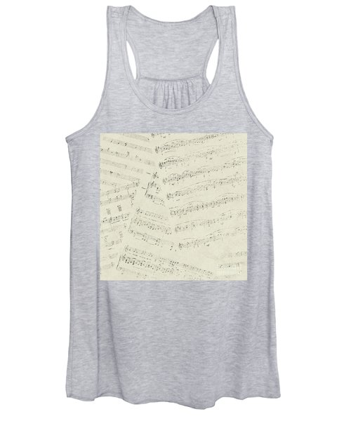 Musical Papers Women's Tank Top