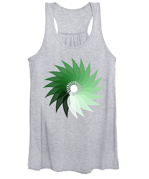 My Green Leaf Women's Tank Top