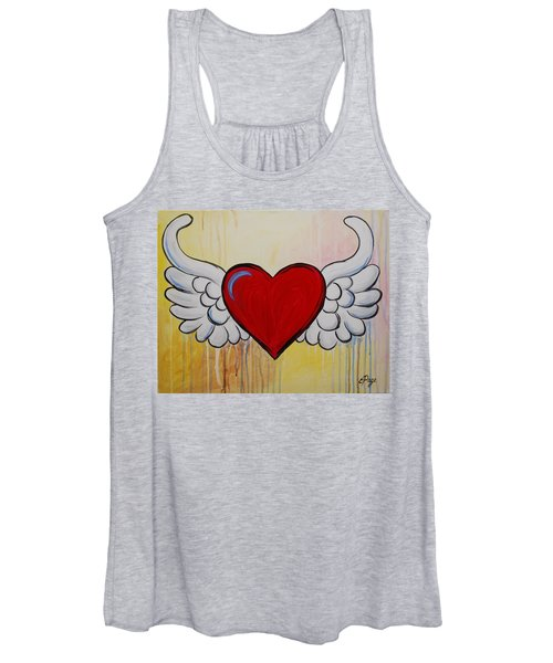 My Heart Has Wings Women's Tank Top