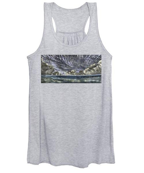 Myrtle Beach Hand Tinted Panorama Sunrise Women's Tank Top