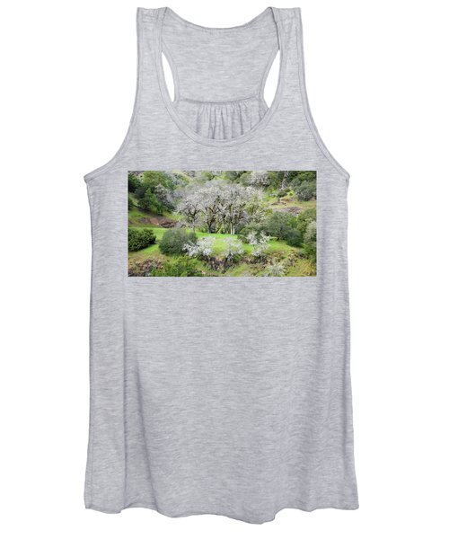 Mysterious Landscape In Sonoma County Women's Tank Top
