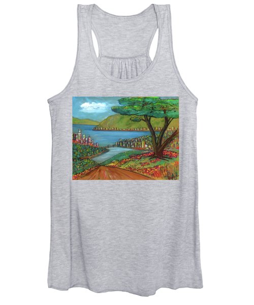 Mystery Painting From 1961 Women's Tank Top