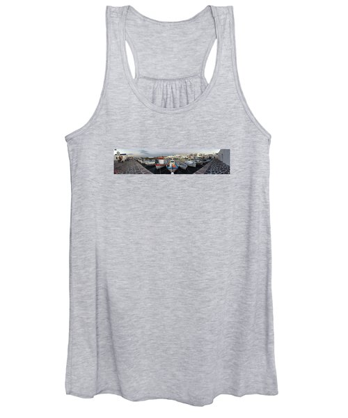 Naoussa Village Island Greece Women's Tank Top