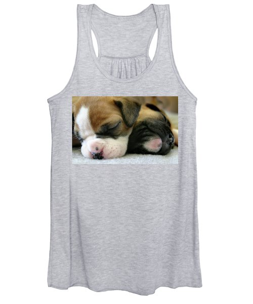 Women's Tank Top featuring the photograph Nap Time by Bob Cournoyer