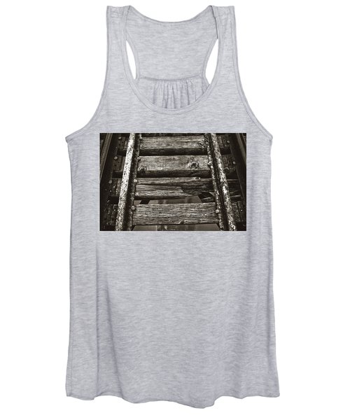 Narrow Gauge Tracks #photography #art #trains Women's Tank Top