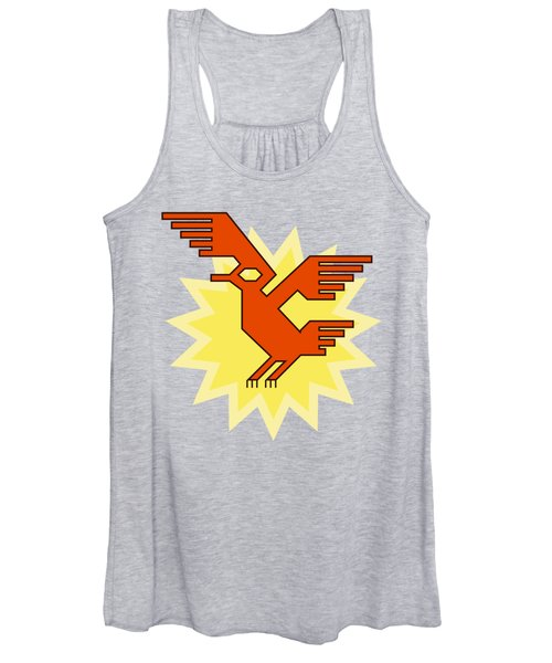 Native South American Condor Bird Women's Tank Top