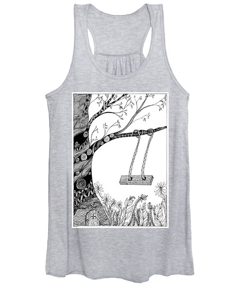 Nature Is Calling Come Out And Play Women's Tank Top