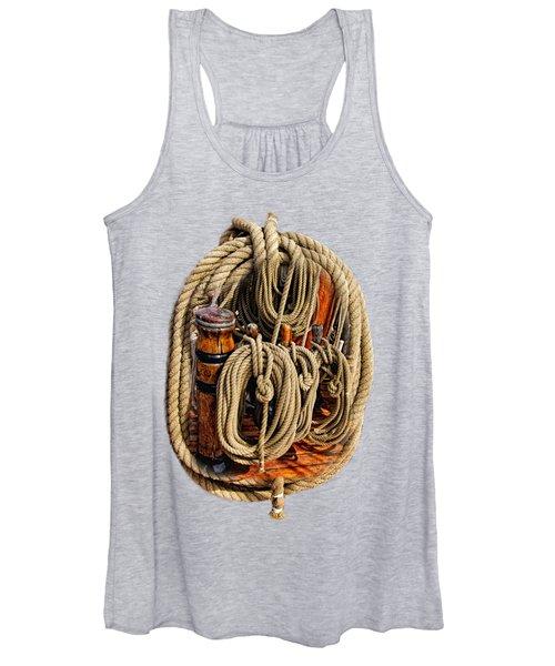 Nautical Knots 16 Women's Tank Top