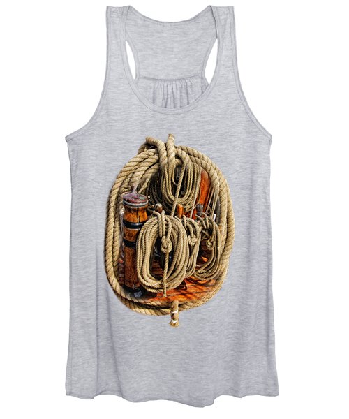 Nautical Knots 16 Women's Tank Top