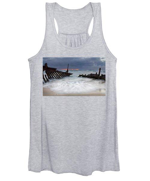 Nautical Skeleton Women's Tank Top