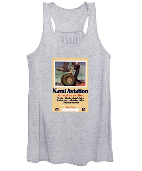 Naval Aviation Has A Place For You Women's Tank Top